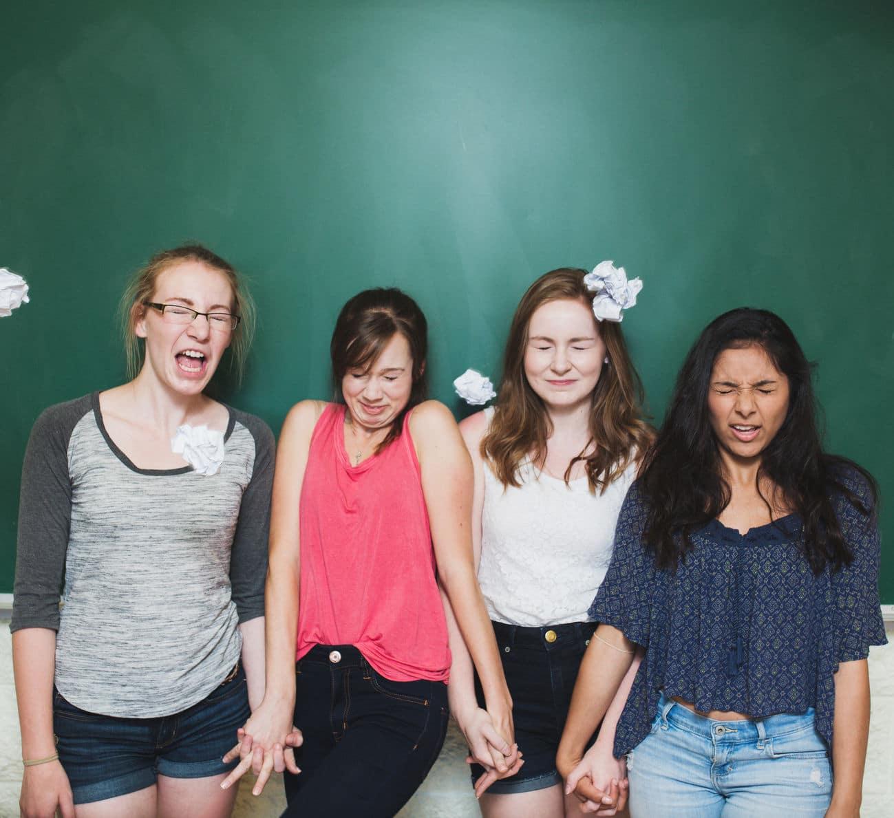 Gruppe von Mädchen
