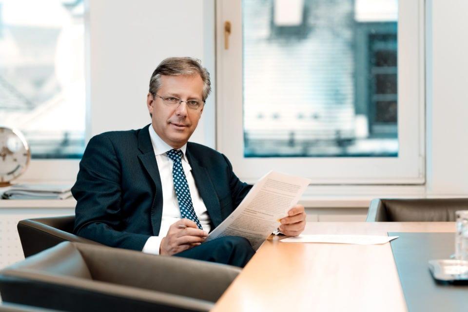 Generaldirektor Klaus Scheitegel
