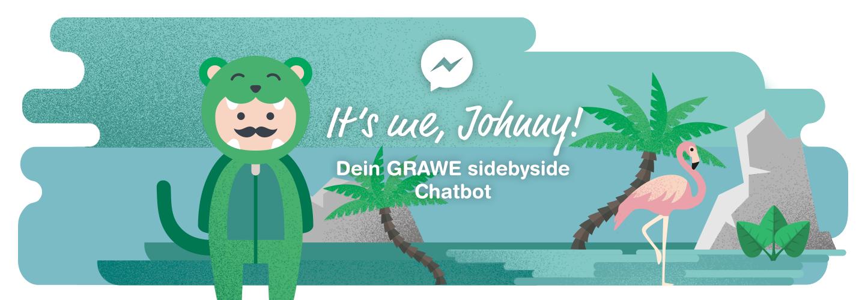 Johnny, der GRAWE sidebyside Chatbot