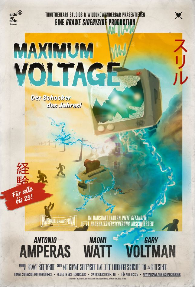 Filmplakat Maximum Voltage