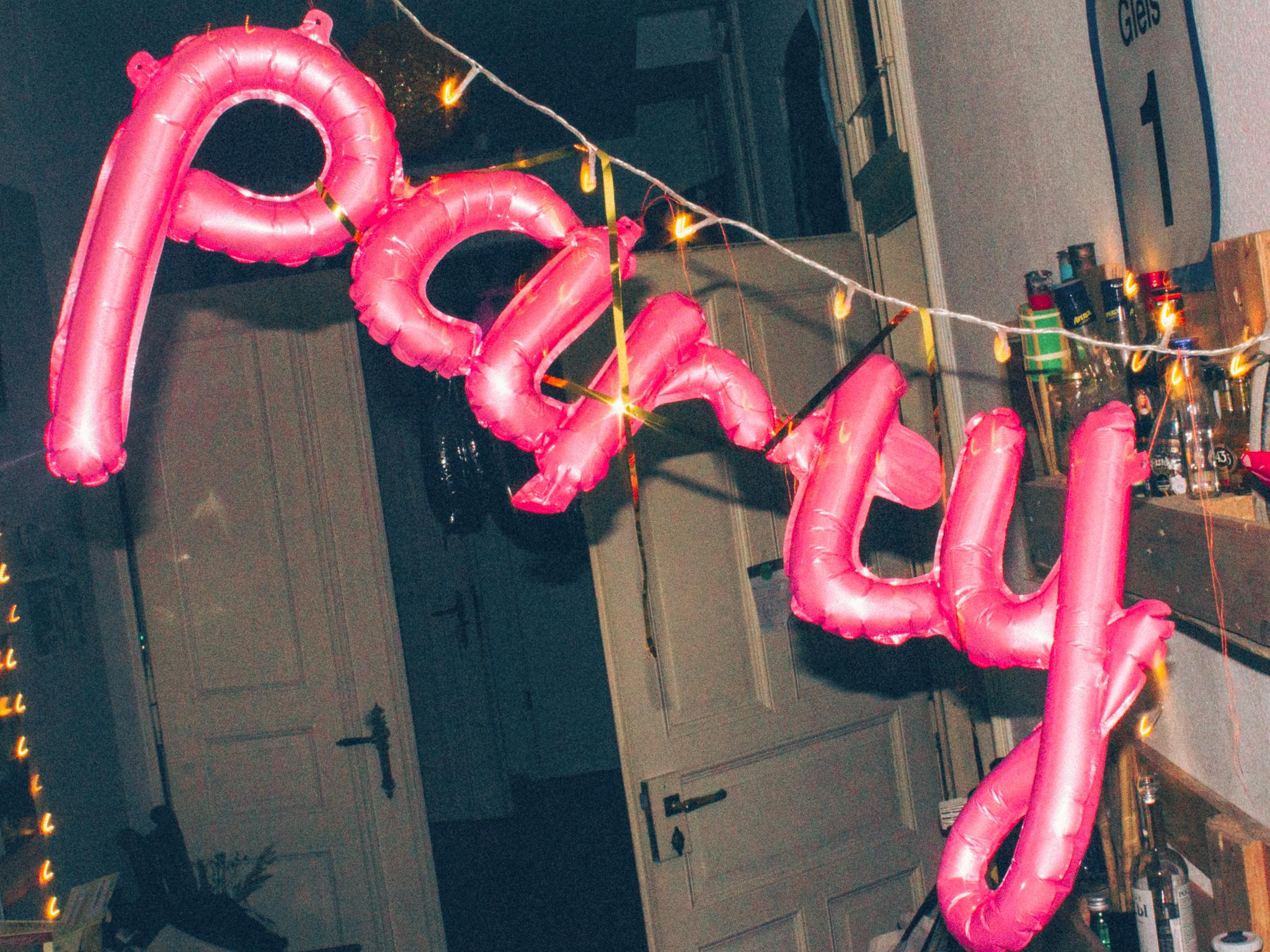 Luftballons Party