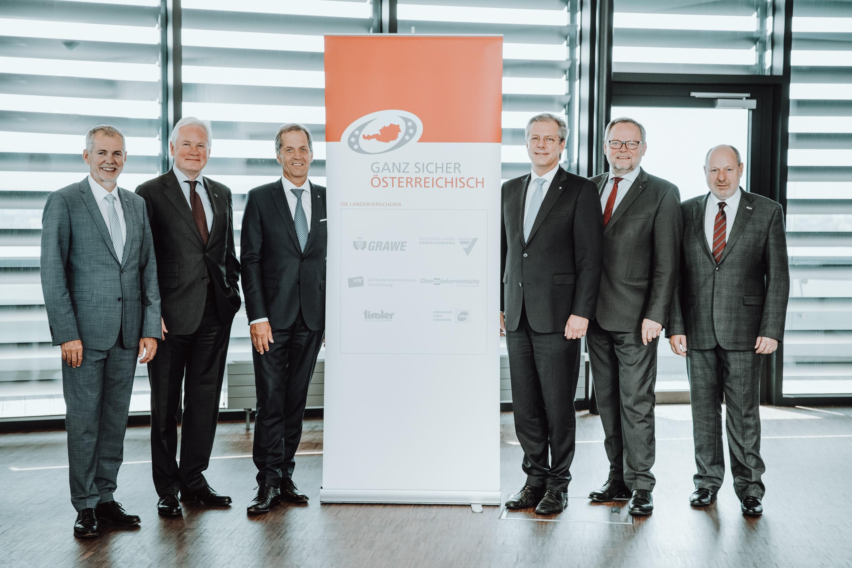 Gruppenfoto der Vorstandsvorsitzenden der Vereinigung der Österreichischen Länderversicherer
